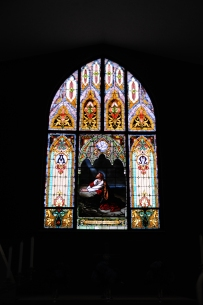 Erlanger Christian Church sanctuary window
